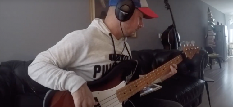 Vulf Pack bass solo Vulfpeck